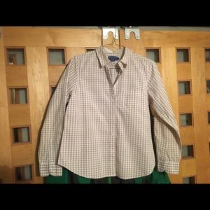Pendleton poplin dress/casual shirt